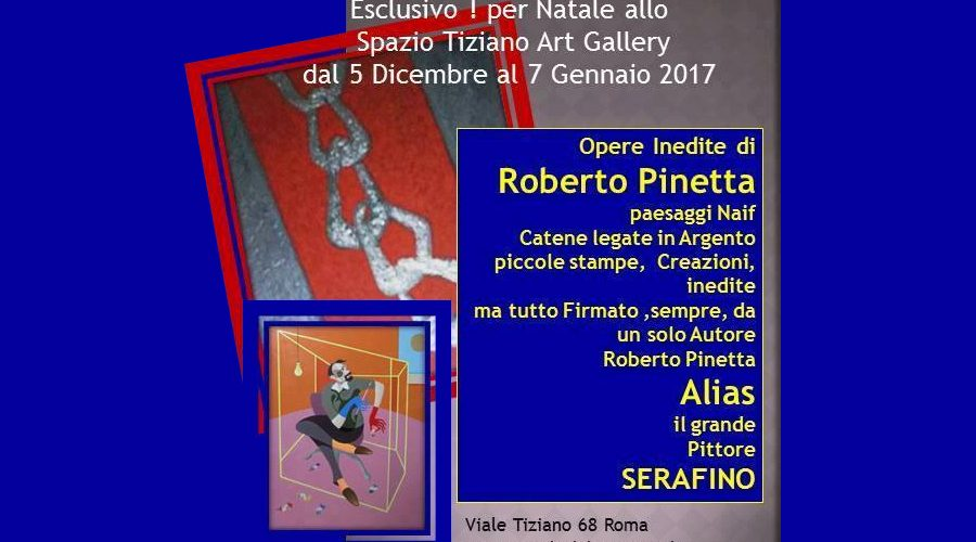 Al ristorante Spazio Tiziano le opere inedite di Pinetta