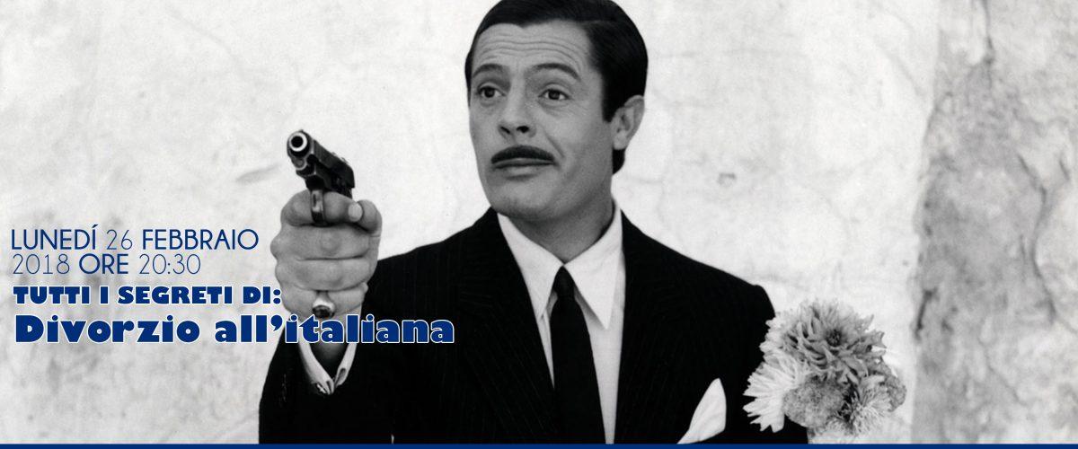 Spazio Tiziano: Tutti i segreti di: Divorzio all'Italiana.