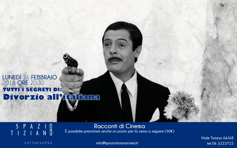 Lunedì 26 Febbraio ore 20:30, incontro cinema a Spazio Tiziano.