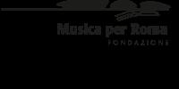 Logo auditorium parco della musica nero